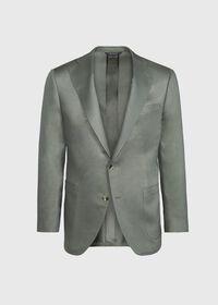Paul Fit Solid Silk Sport Jacket, thumbnail 1