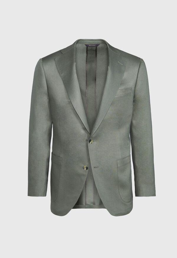 Paul Fit Solid Silk Sport Jacket, image 1
