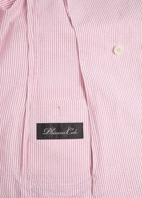 Pink & White Cotton Seersucker Jacket, thumbnail 3