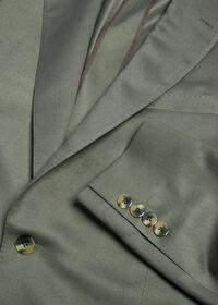 Paul Fit Solid Silk Sport Jacket, thumbnail 2