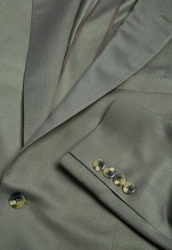 Paul Fit Solid Silk Sport Jacket, image 2