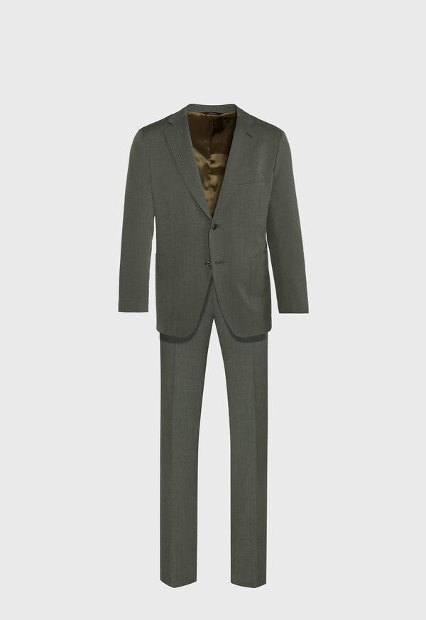 Green Twill Suit