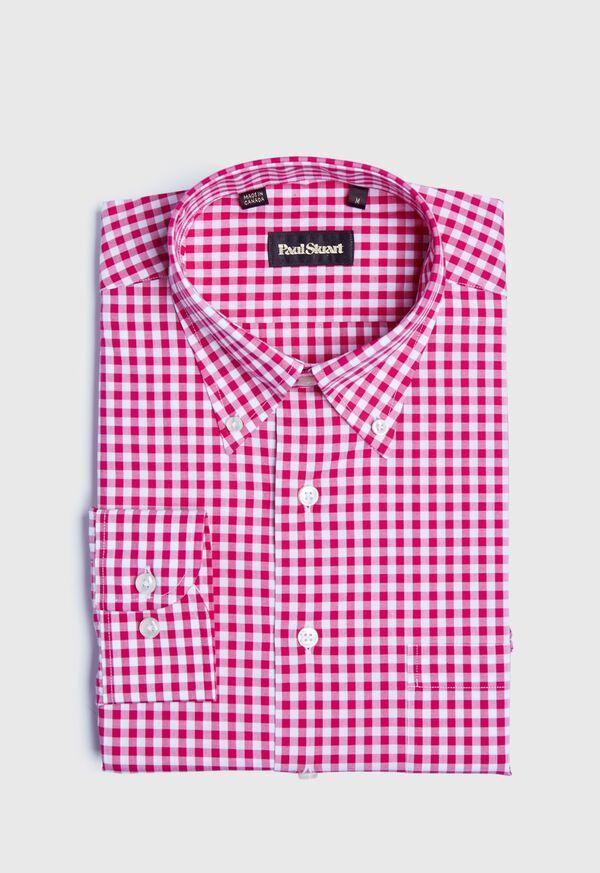 Gingham Sport Shirt, image 1