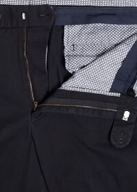 Navy Cotton Stretch Pant, thumbnail 2