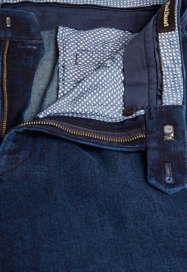 Classic Denim Solid Pant, image 2