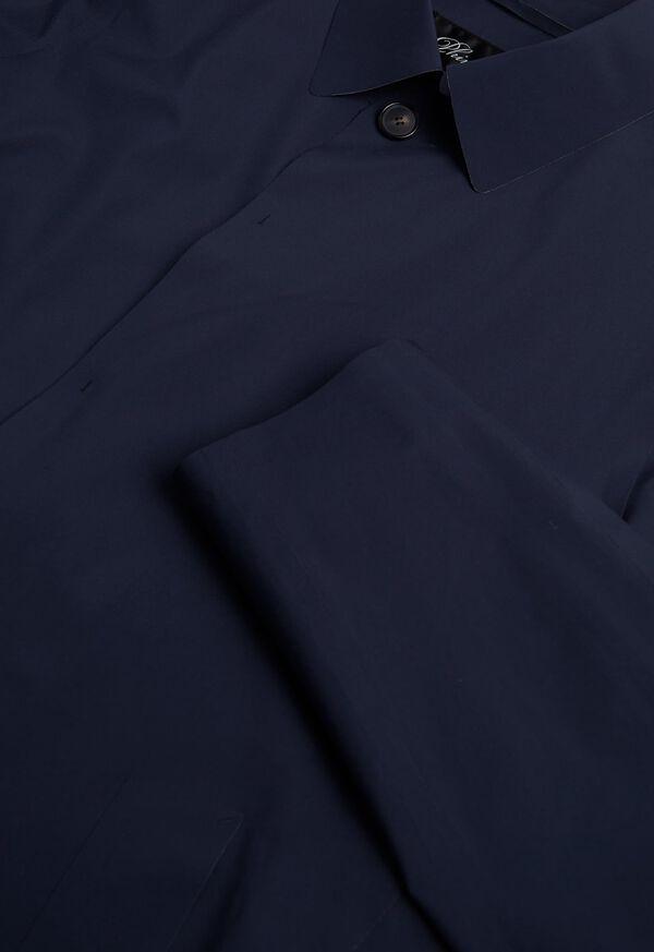 Navy Waterproof Trench Coat, image 4