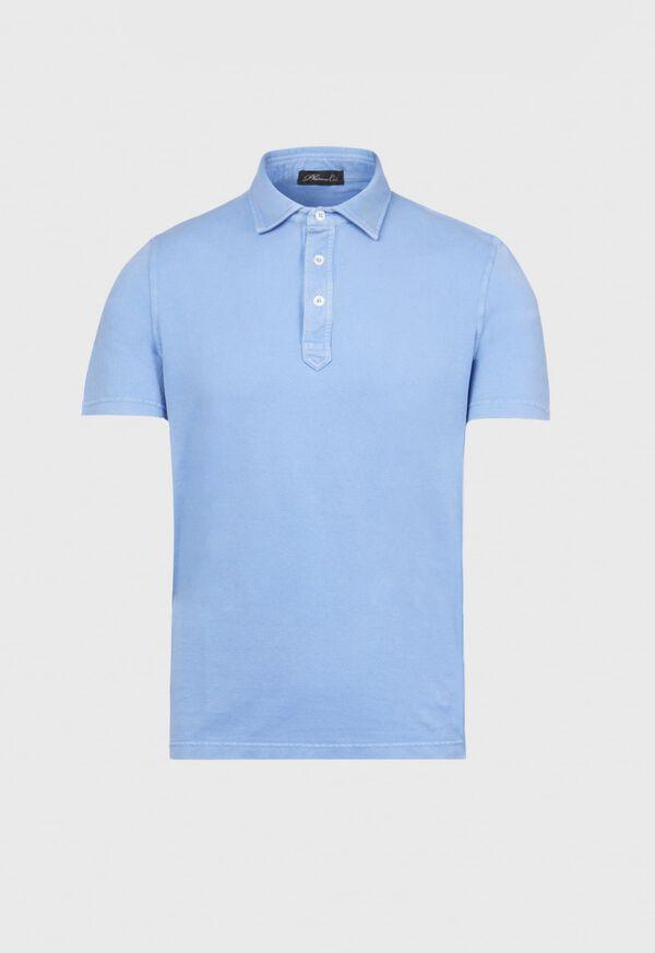 Cotton Pique Polo, image 1