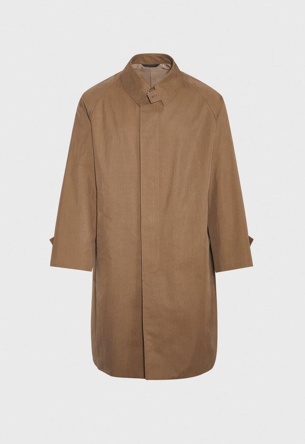 Tan A-Line Rain Coat, image 1