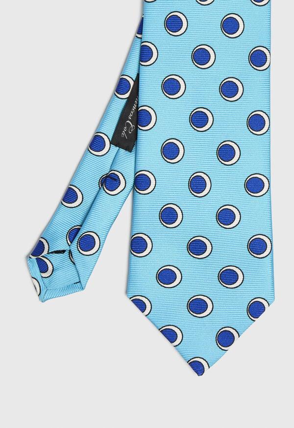 Oval Deco Print Tie, image 1