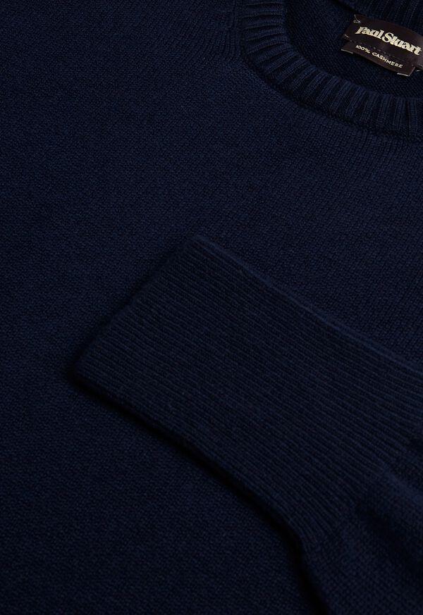 Scottish Cashmere Crewneck Sweater, image 2