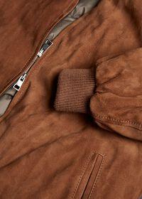 Suede Blouson Jacket, thumbnail 3