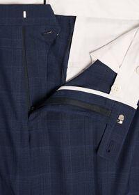 Fainted Deco Pane Super 150s Wool Suit, thumbnail 6