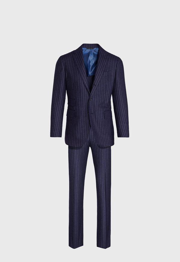 Navy Stripe Suit, image 1