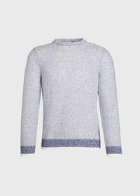 Marled Crew Neck Sweater, thumbnail 1