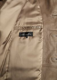 Distressed Leather Coat, thumbnail 3