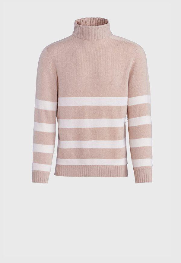 Turtleneck Stripe Sweater, image 1