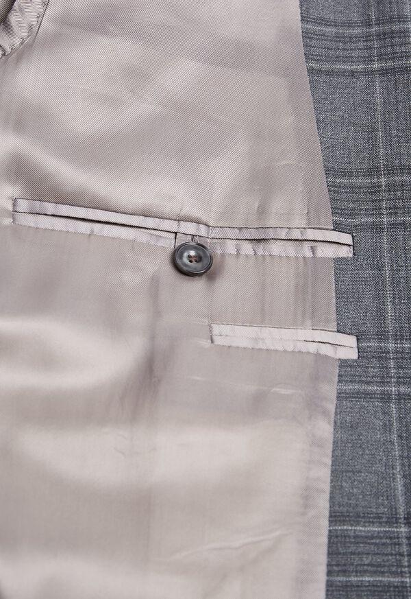 Tonal Plaid Wool Jacket, image 3