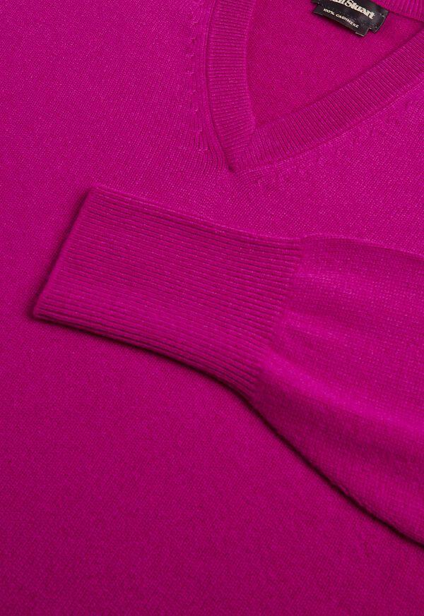 Scottish Cashmere V-Neck Sweater, image 44