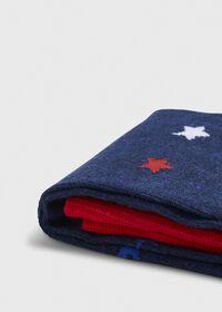 Patriotic Star Crew Sock, thumbnail 2