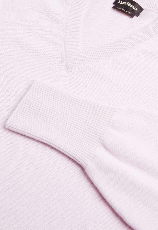 Scottish Cashmere V-Neck Sweater, image 45