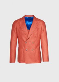 Cashmere Mohair Blend Double Breasted Sport Jacket, thumbnail 1