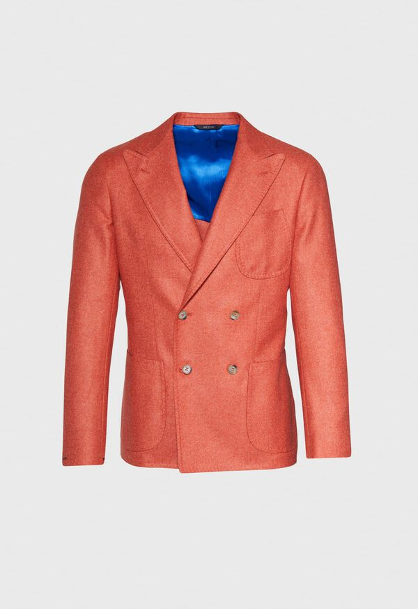 Cashmere Mohair Blend Double Breasted Sport Jacket, image 1