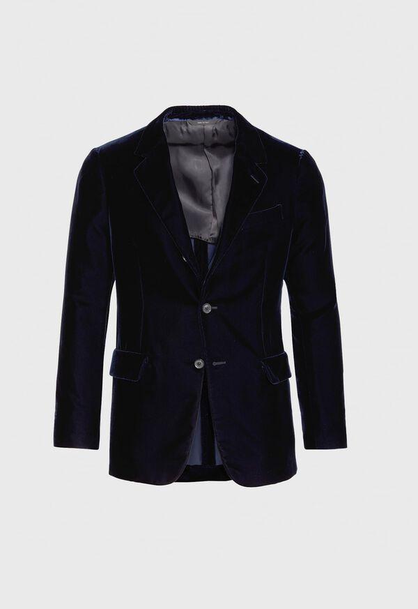Blue Velvet Blazer, image 1