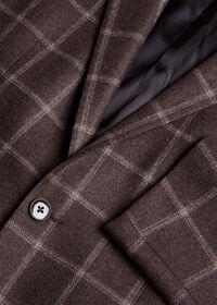 Wool Deco Windowpane Sport Jacket, thumbnail 2