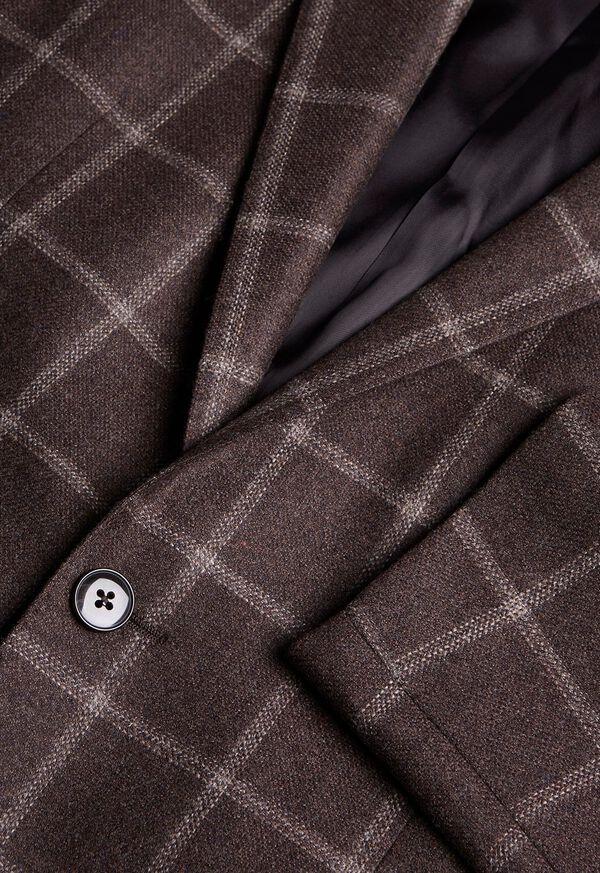 Wool Deco Windowpane Sport Jacket, image 2