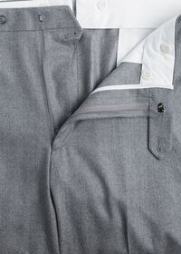 Grey Super 120s Flannel Pant, thumbnail 2