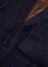Navy Windowpane Suit, thumbnail 2