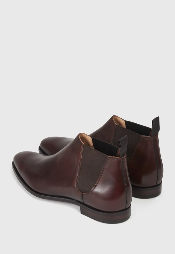 Chestnut Leather Half Chelsea Boot, image 4