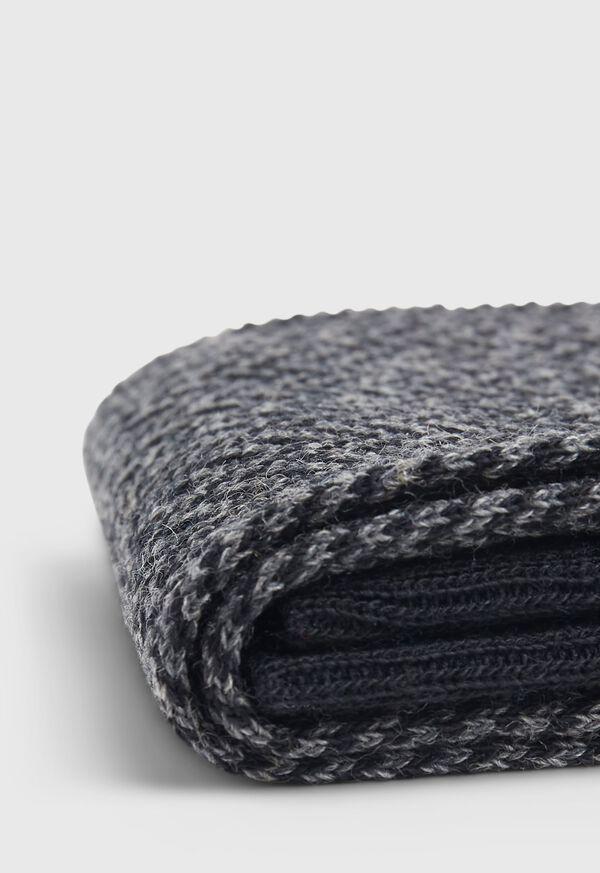 Wool Blend Herringbone Sock, image 3
