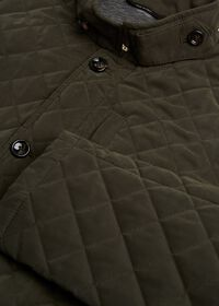 Belsetta Quilted Field Coat, thumbnail 2