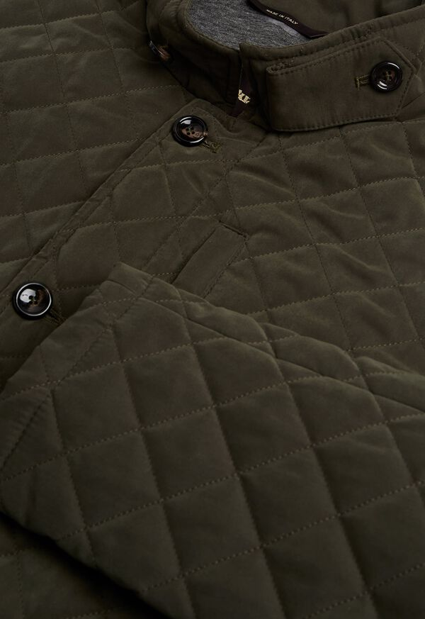 Belsetta Quilted Field Coat, image 2