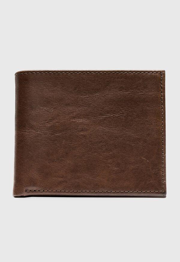 Bifold Vachetta Leather Wallet, image 1