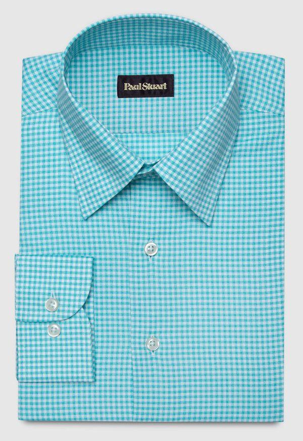 Cotton Gingham Sport Shirt, image 1