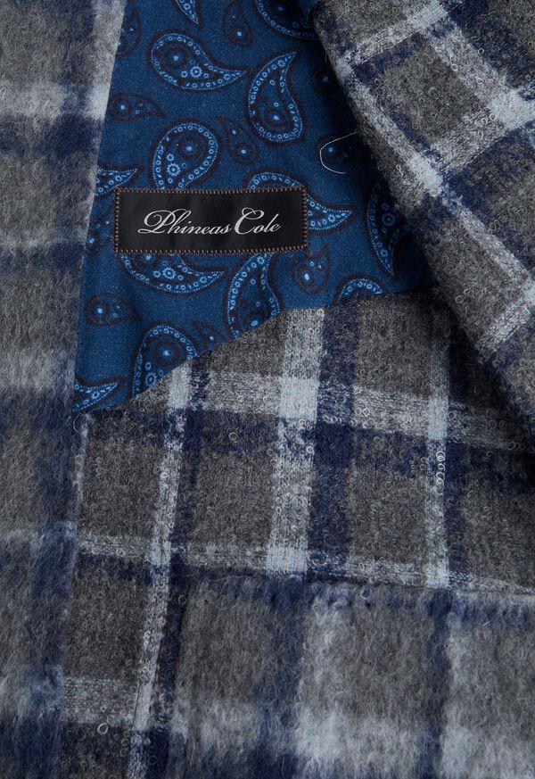 Grey Plaid Blazer, image 2