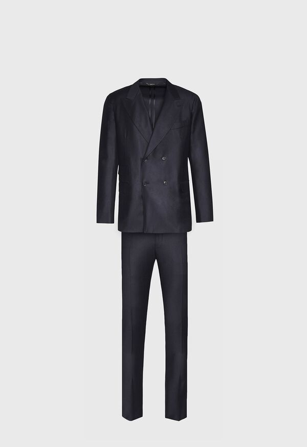 Super 150s Double Breasted Suit, image 1