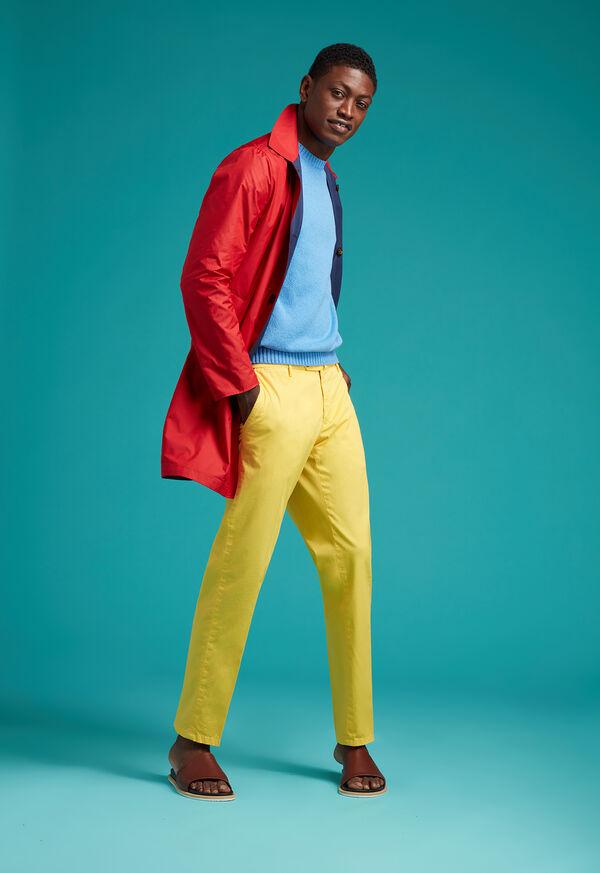 Garment Dyed Cotton Pant, image 3