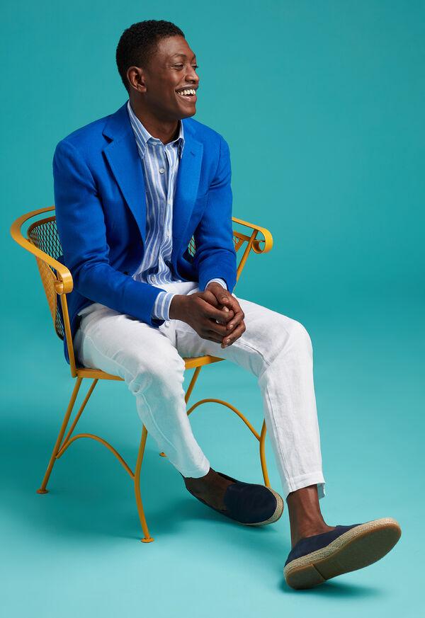 Royal Blue Cashmere Soft Jacket, image 2