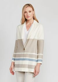 Wool One Button Coat, thumbnail 2
