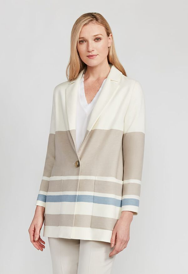 Wool One Button Coat, image 2
