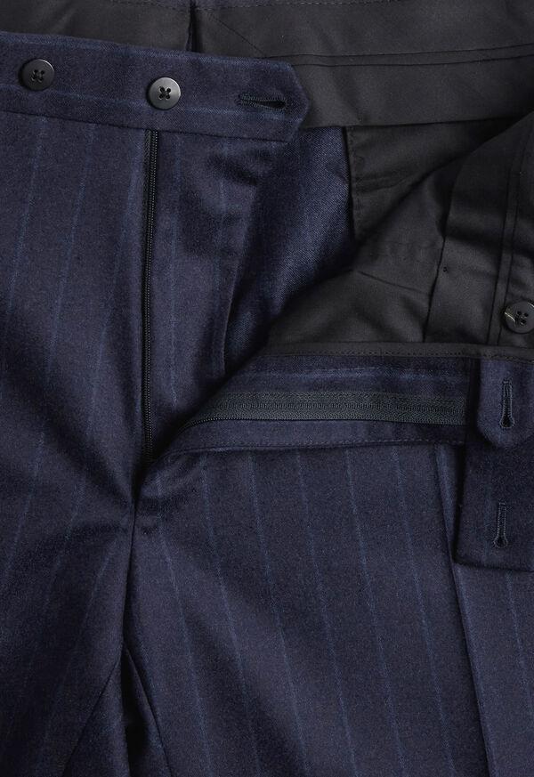 Tonal Blue Stripe Suit, image 6