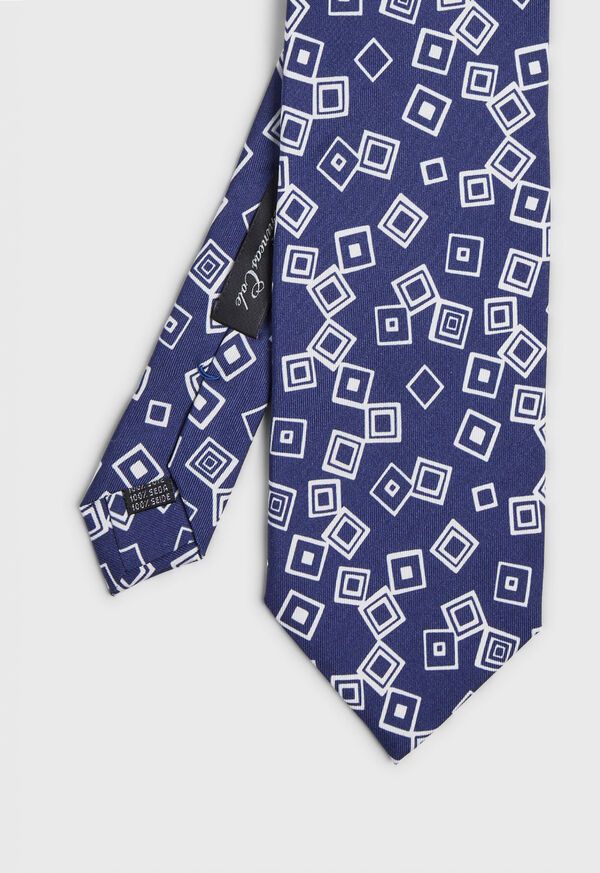 Connected Squares Tie