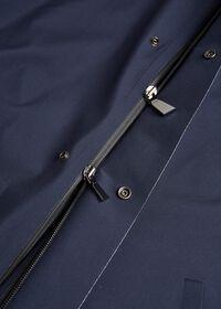 Navy Hooded Waterproof Jacket, thumbnail 3