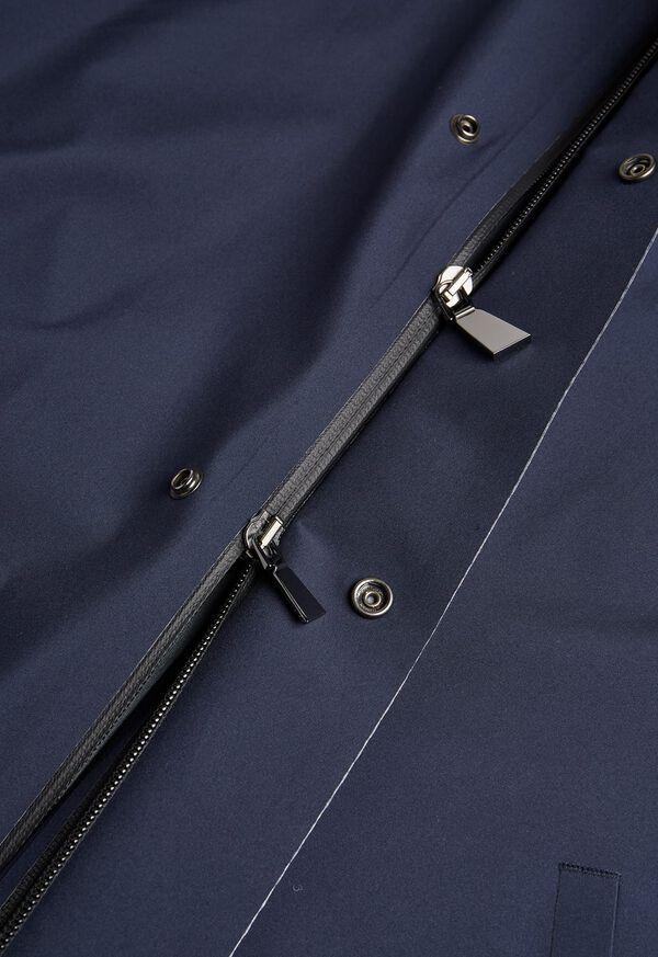 Navy Hooded Waterproof Jacket, image 3