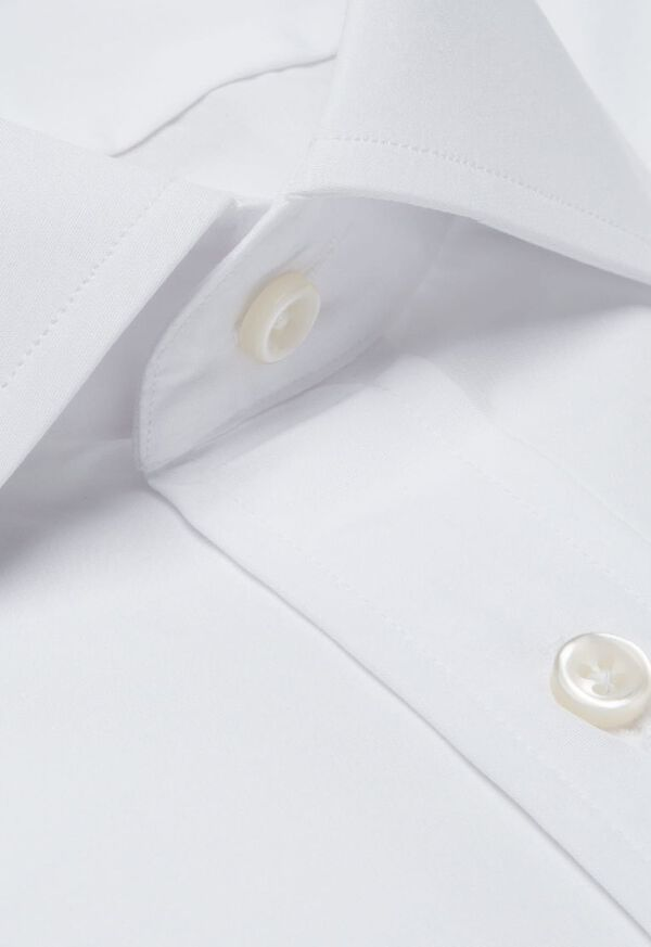 Slim Fit Broadcloth Cotton Dress Shirt, image 2