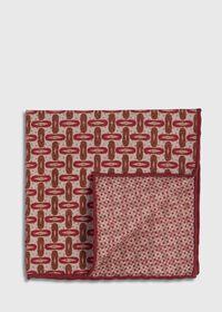 Vintage Deco Print Pocket Square, thumbnail 1
