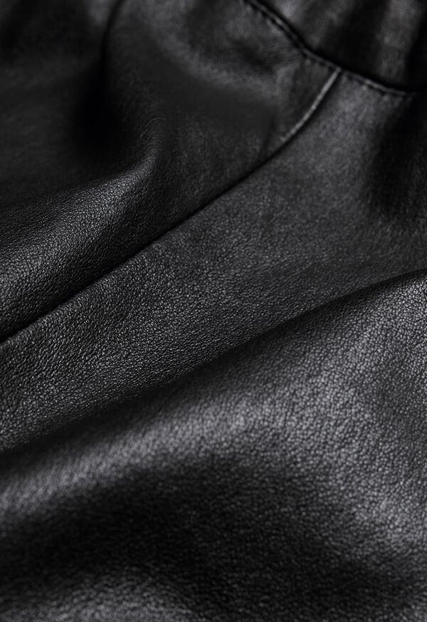 Stretch Leather Legging, image 8